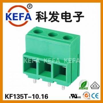 厂家直销螺钉式PCB接线端子KF135T-10.16