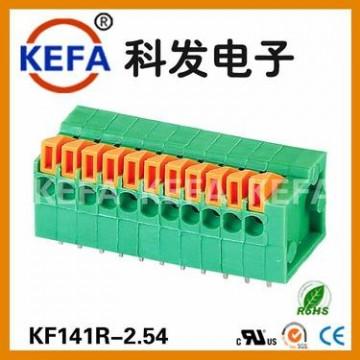 科发接线端簧式 接线端子台KF141R-2.54货期稳定量大价优