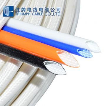 硅树脂玻璃纤维套管(内纤外胶)