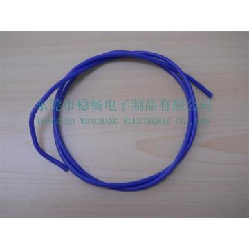 UL3075高温硅胶编织线